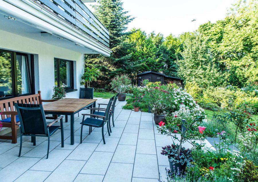 Gartengestaltung mit Terrasse in Ratingen